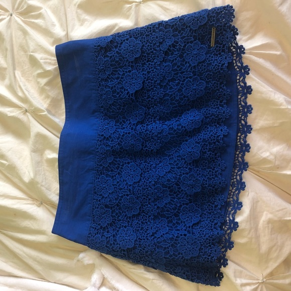 Abercrombie & Fitch Dresses & Skirts - Abercrombie royal blue skirt